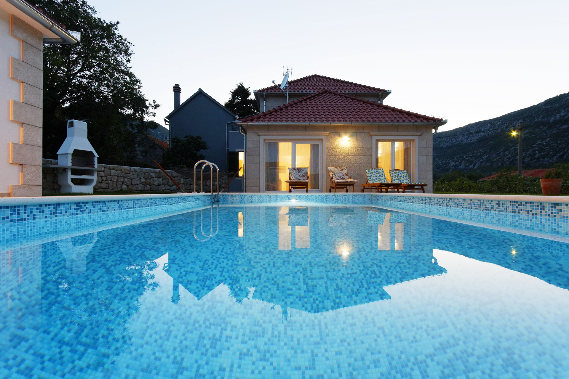 Private pool | Villa Župa